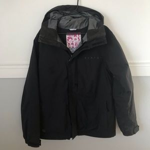 Men's Burton Black Ski Coat